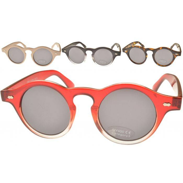 Stylish Round Retro Sunglasses