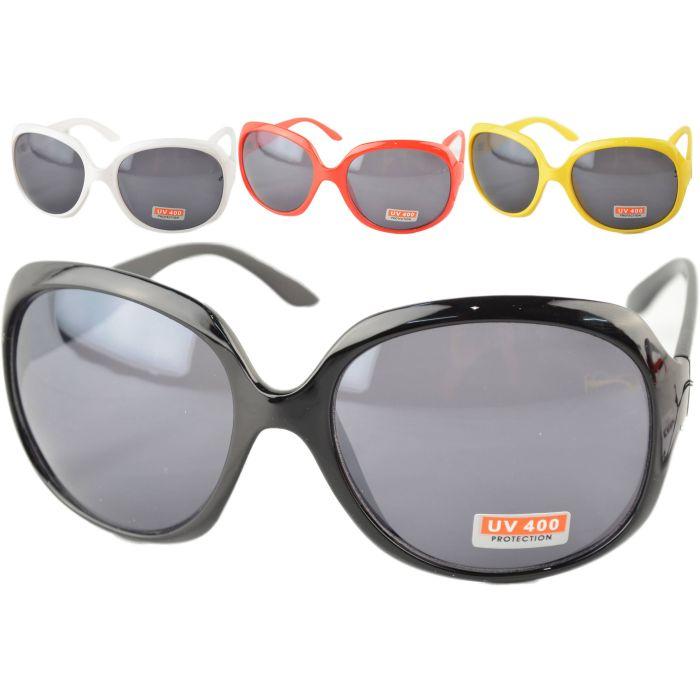 Large Round Retro Sunglasses