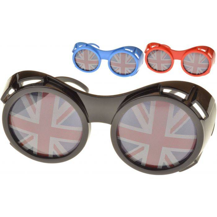 Union Jack Goggle Sunglasses