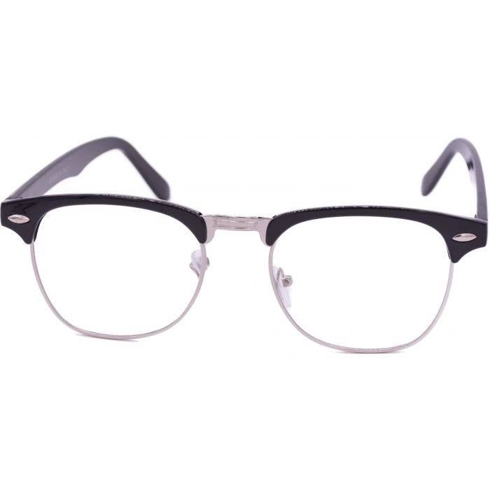 Clear Horn Rimmed Sunglasses