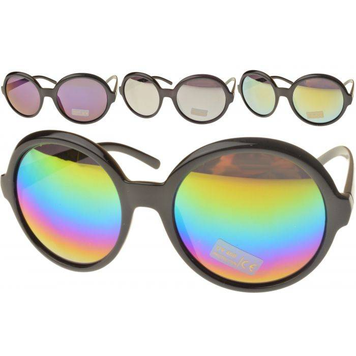 Large Round Retro Sunglasses