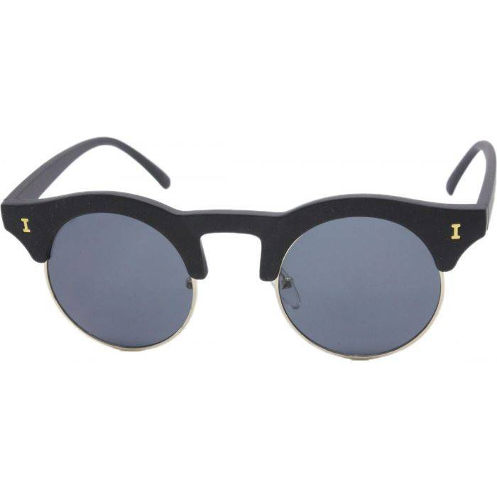 Rubber Framed Clubmaster Sunglasses