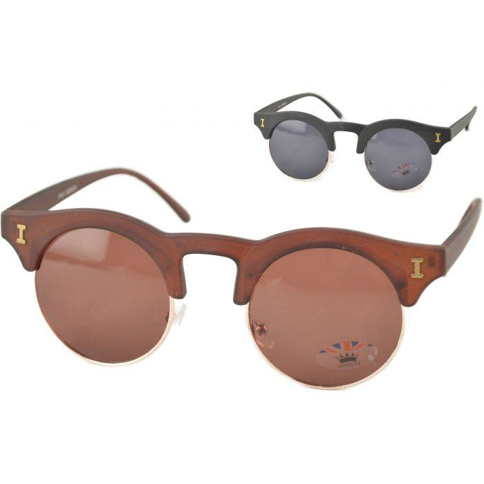Clubmaster Horn Rimmed Sunglasses - Main