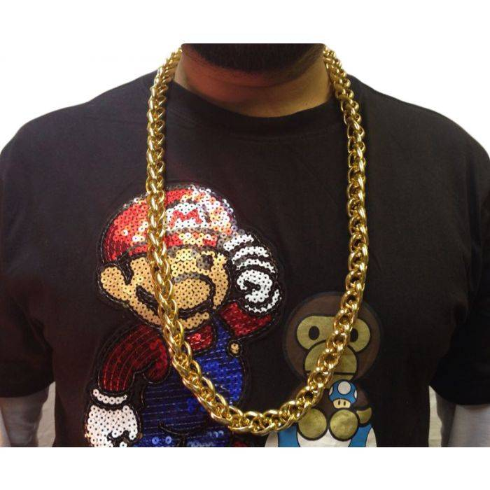 33cm Long Gold Style Hip Hop Costume Chain