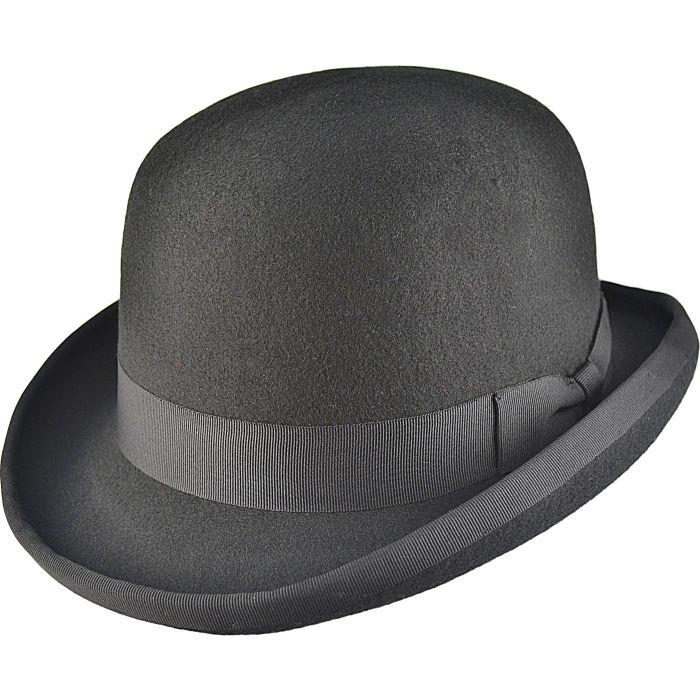 Classic Bowler Hat - Black