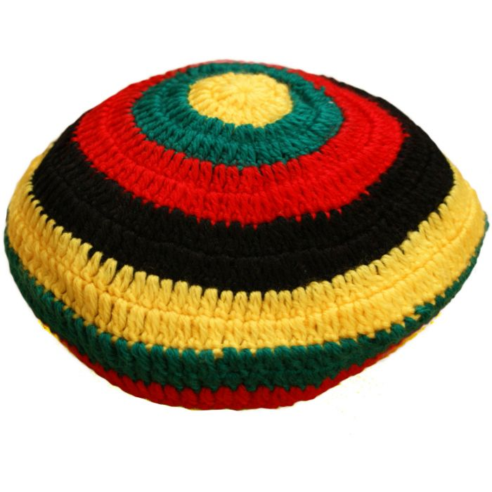 Pan African Large Knitted Rasta Hat