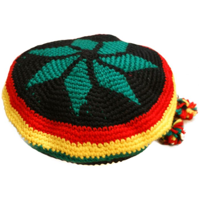 Pan African Small Or Large Knitted Rasta Hat