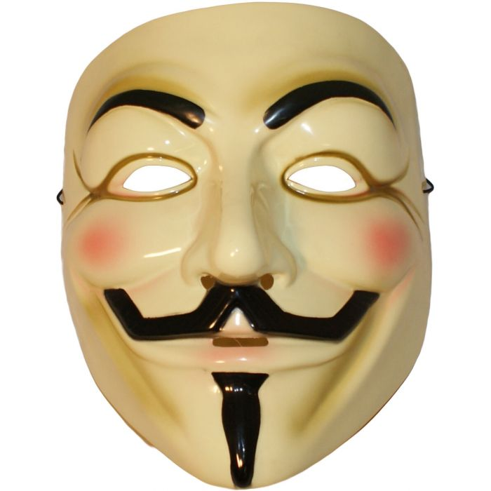 Full Face Anarchy Guy Fawkes Masquerade Mask