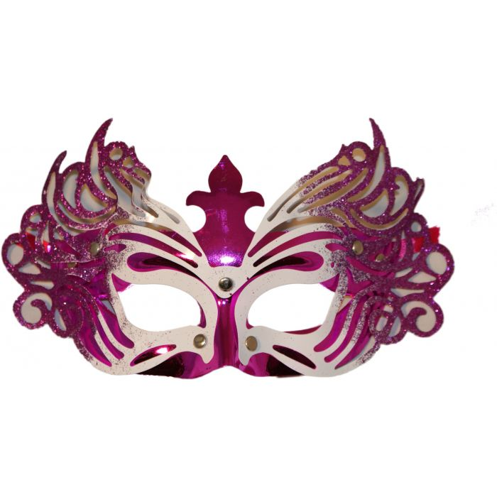Venetian Masquerade Mask - Purple