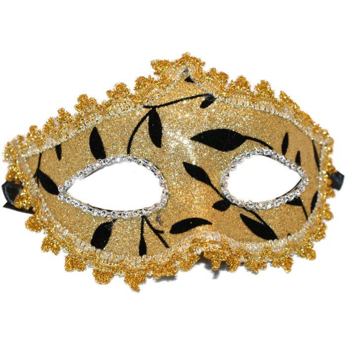 Venetian Masquerade Mask - Gold