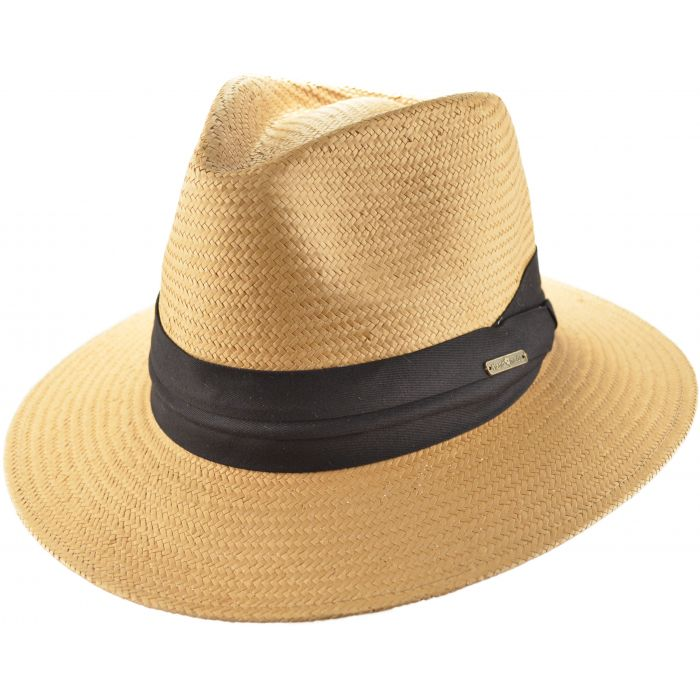 Summer Panama Hat - Camel Brown