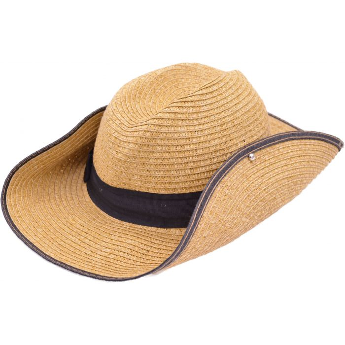 Summer Cowboy Hat - Black