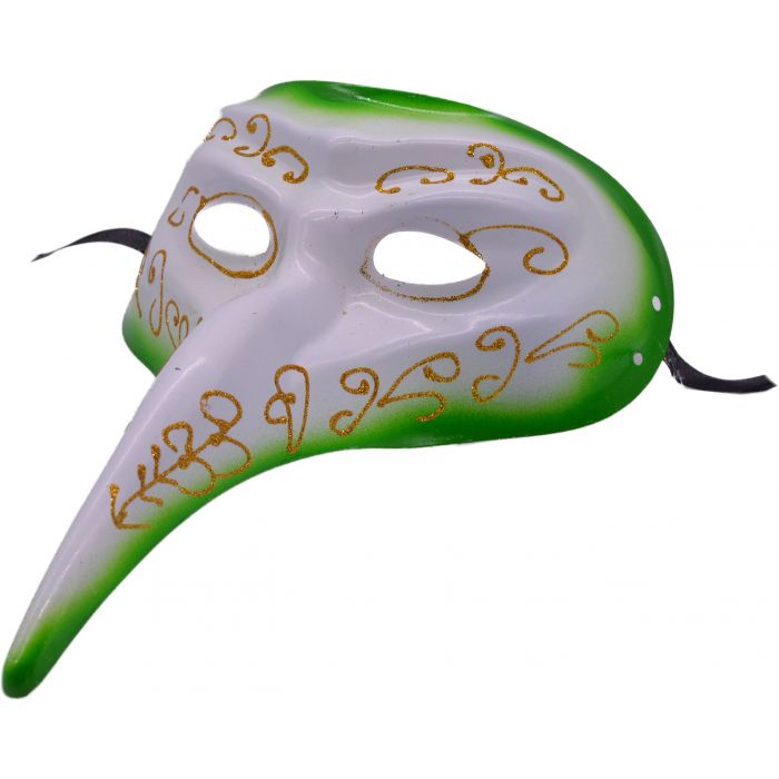 Long Nose Venetian Masquerade Mask