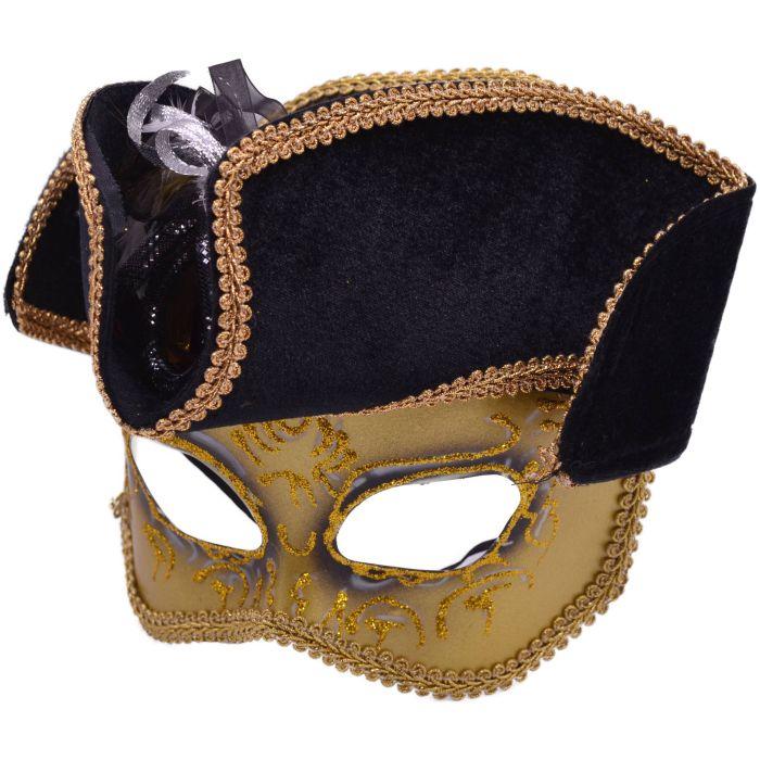 Pirate Captain Masquerade Mask
