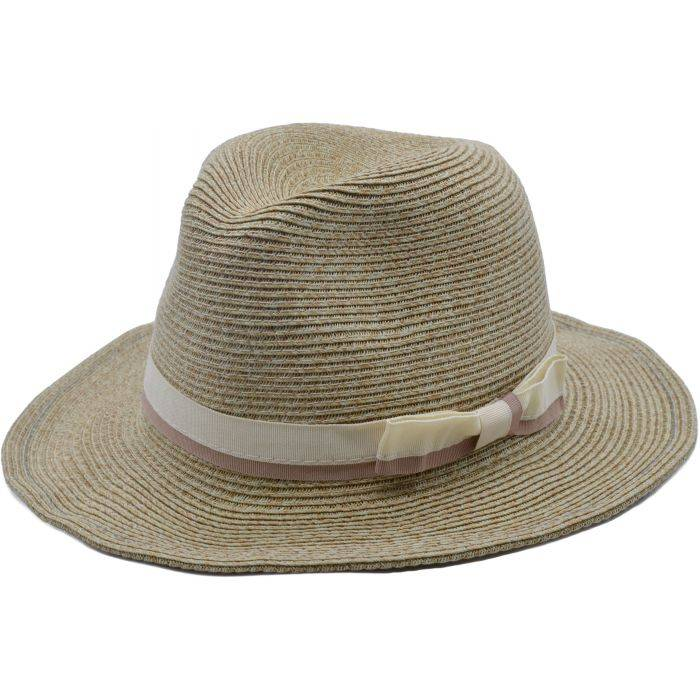Foldable Summer Panama Hat - Beige