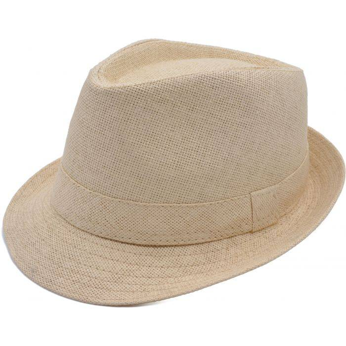Soft Summer Trilby Hat