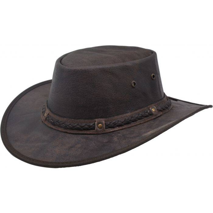 Genuine Leather Cowboy Hat