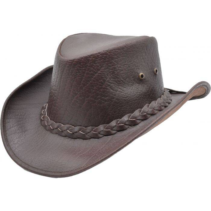 Genuine Leather Cowboy Hat