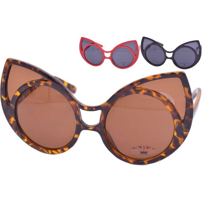 Womens Cat Ear Sunglasses