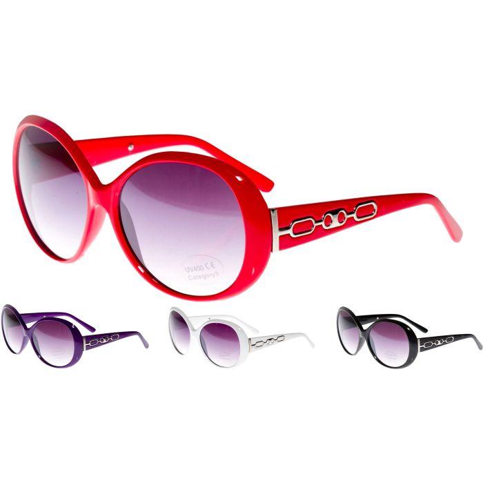 Large Round Womens Sunglasses